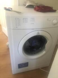 Indesit white vented tumble dryer