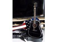 C.F Martin & Co POW MIA Special Edition Black Acoustic Guitar D18 D28 D16GT D35 HD Hummingbird J45