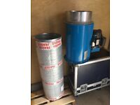 Gallito Spray Booth Explosion Proof Fan with New Motor & Drive Belt