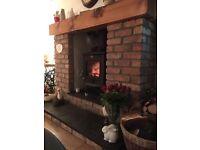 Multi fuel wood burning stove
