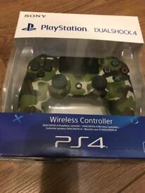 Mint condition camo PS4 V2 controller