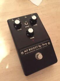 Moog Minifooger Boost/Overdrive Guitar Pedal