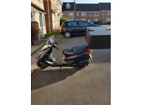 YAMAHA XC125E SCOOTER - WITH DELIVERY BOX