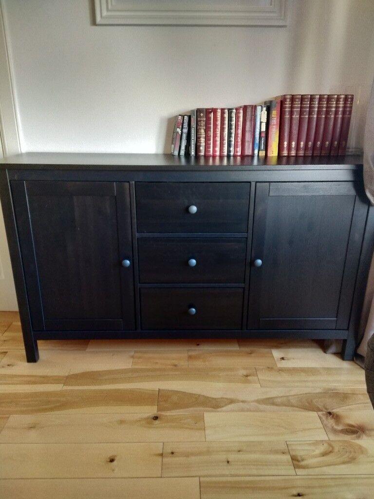 IKEA hemnes sideboard in black brown in Cumbernauld, Glasgow Gumtree