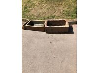 Fire clay troughs