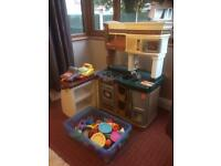3 in 1 Top Quality Kids Play Kitchen - Cost £160