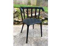 Black Ikea chair