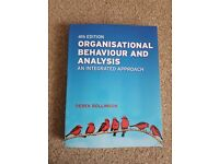 4th ed Organisational Behaviour and Analysis