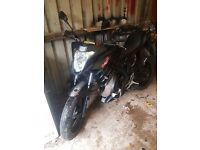 Learner legal 50cc motorbike
