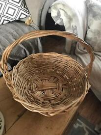 Large rustic basket