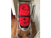 Maxi Cosi pushchair with car seat