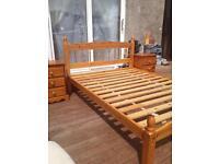Bedroom set frame & mattress 255£