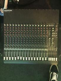 Mackie 16 channel mixing desk (for repair)