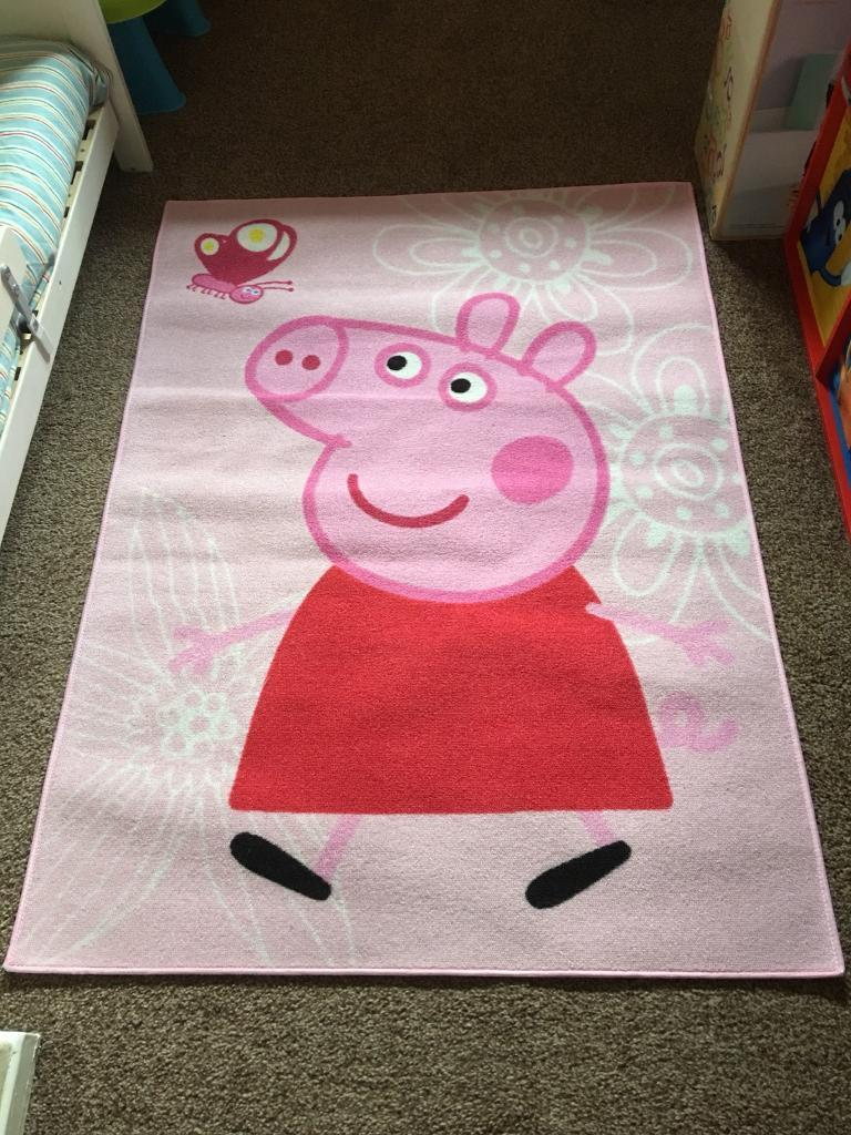 Stupendous Peppa Pig Bedroom Rug In Hyde Manchester Gumtree Interior Design Ideas Tzicisoteloinfo