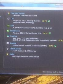 Zoostorm Home PC Windows 7 250gb hdd 4gb RAM