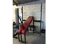 Olympic Incline Bench - Weights Gym