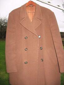 Vintage Crombie Coat Made by Tailors Albert Williams