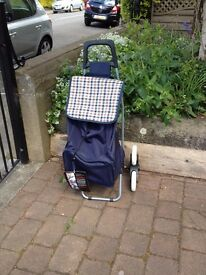 Eclipse Stair Climber Shopping Trolley. Large capacity, weatherproof bag and a lightweight frame