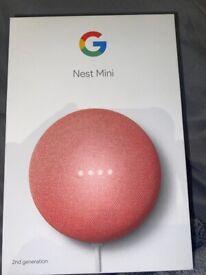 Google Nest Mini 2nd Generation- Rose Gold