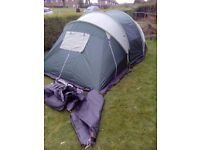 2 bedroom ,2 to 4 person tent