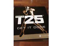 Shaun T's FOCUS T25 DVD Fitness Workout Programme
