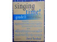 Singing time! grade 1, 2 and 3 - David Turnbull