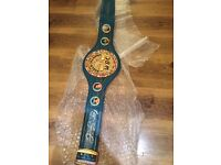 BOXING BELT HAND SIGNED BY FLOYD MAYWEATHER JR