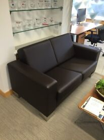 Top Quality Leather Office Sofa