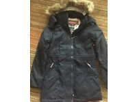 Brand New Superdry coat size medium in Navy