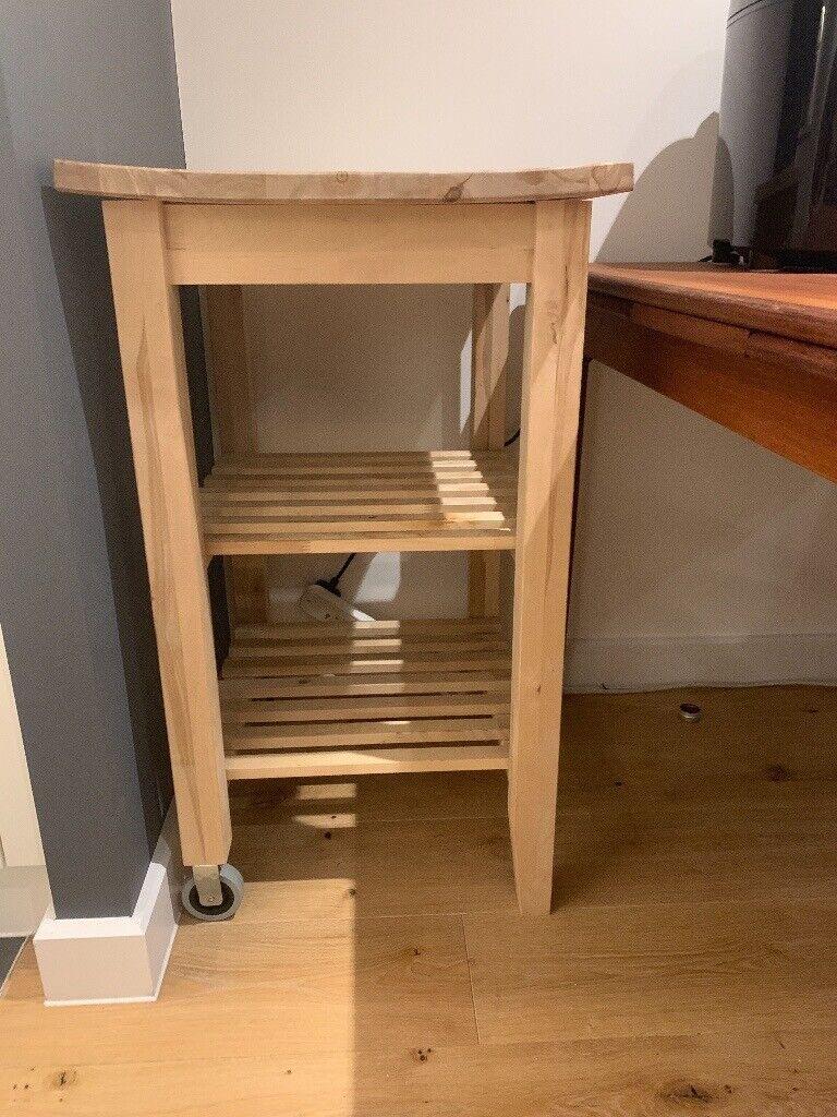 Wooden Ikea kitchen trolley/kitchen storage | in Hackney ...
