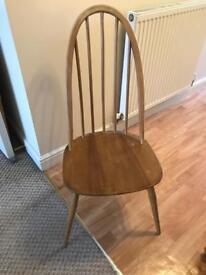 Ercol chairs and Julian Bowen table