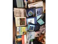 Various textbooks economics business philosophy