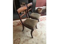 Two sturdy chairs for sale