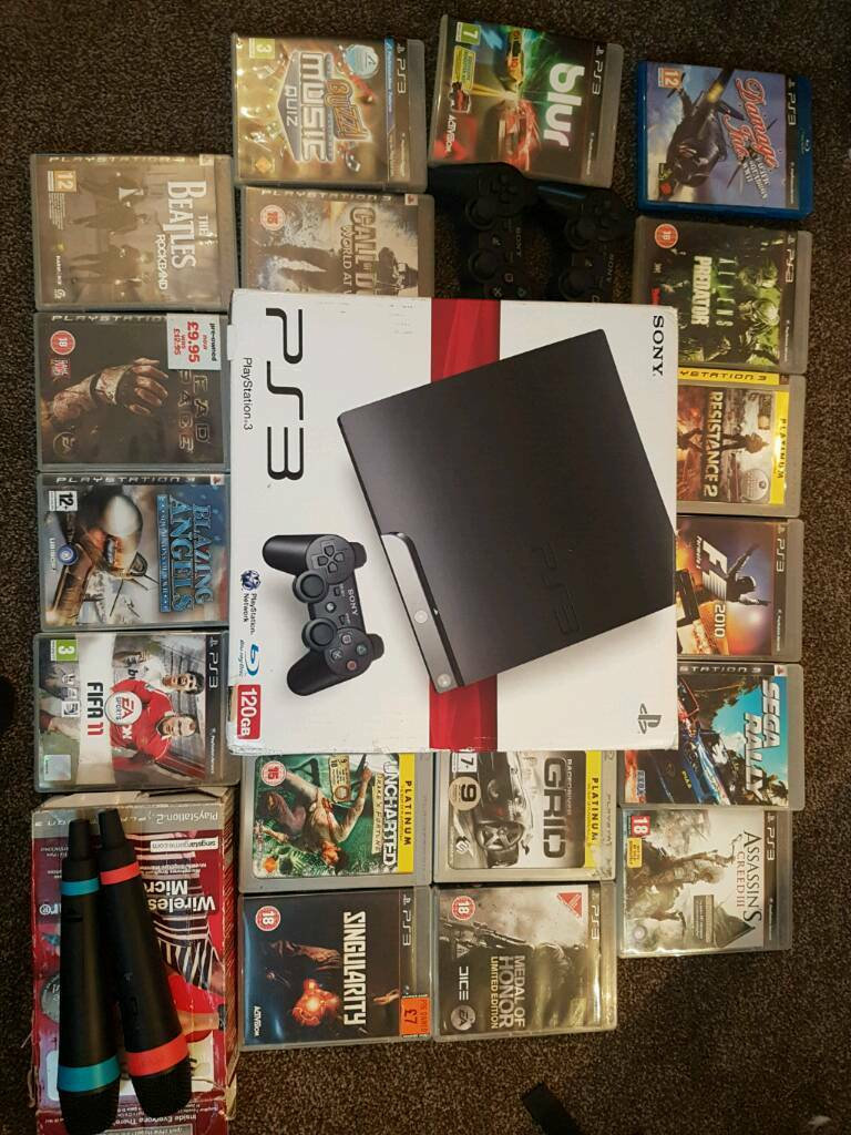 Boxed ps3 17 games quick sale!!