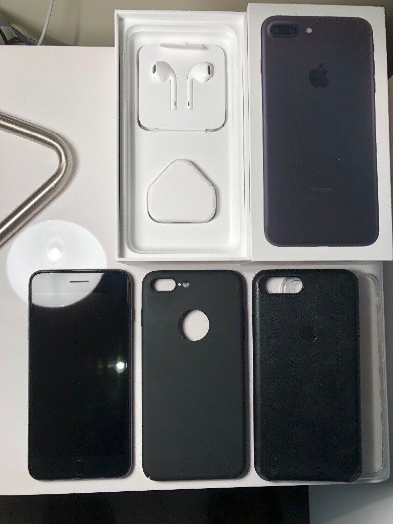 iPhone 7 Plus 128Gb Black A conditions with accessories still sealed