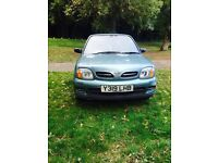 2001 Nissa Micra. 1.4l Automatic. Less than 54,000 miles, 11 months MOT!