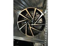 Alloy wheels alloys rims 17 inch fits Vw seat Skoda Audi s line