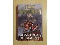 Monstrous Regiment by Terry Pratchett (1st edition, Hardback, 2003)