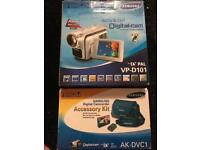 New samsung video camera and accessories pack