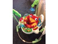 Baby jumperoo in good condition