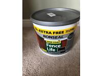 Ronseal fence pait