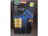 Christmas Indoor or Outdoor Jumbo Colour Changing lights NEW BOXED