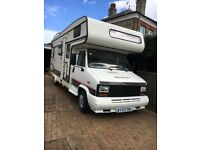 Peugeot c25/ talbot express motorhome LOW MILEAGE 6 birth lhd new CAMBELT camper Mobil home DIESEL