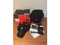Sony SLT-A37 Digital Camera, Sony 18-55ml Lens & Lowpro camera bag
