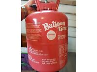 Helium tank 30 baloons approximately