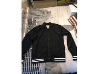 Men's hollister bomber jacket