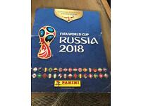 Panini stickers Russia World Cup