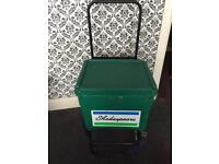 Shakepeare fishing box and trolley