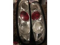 Corsa c Lexus back lights