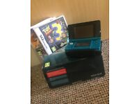 Nintendo 3D ds aqua blue good condition